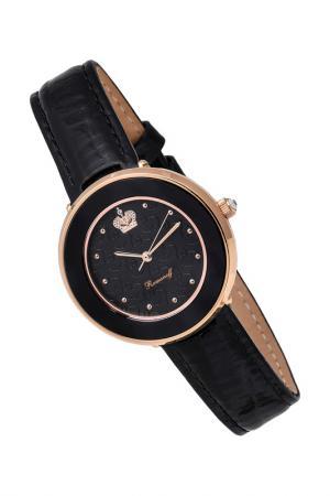 Часы наручные кварцевые ROMANOFF. Цвет: черный