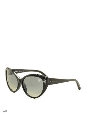 Солнцезащитные очки SK 0055 01B Swarovski. Цвет: черный