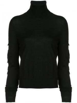 Пуловер с высоким воротом Sweet Eighteen Barrie. Цвет: черный