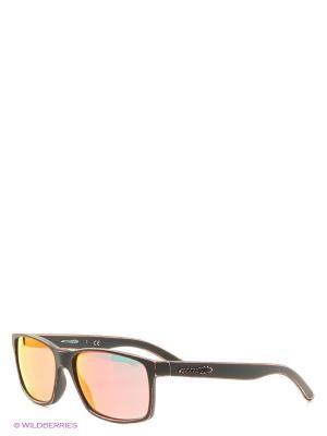Очки солнцезащитные SLICKSTER ARNETTE. Цвет: черный