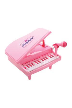 Синтезатор электрический MARY POPPINS. Цвет: розовый