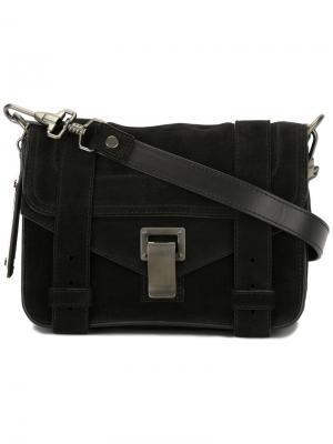 Маленькая сумка через плечо PS1 Proenza Schouler. Цвет: черный