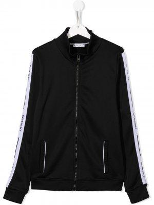 Куртка-бомбер с логотипом Givenchy Kids. Цвет: черный