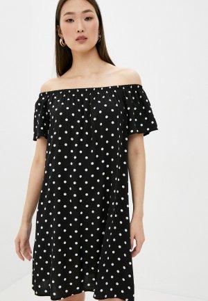 Платье Fresh Made. Цвет: черный