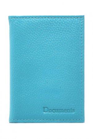 Обложка для паспорта KIN. Цвет: бирюзовый