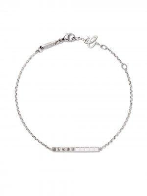 18kt white gold Ice Cube Pure diamond bracelet Chopard. Цвет: fairmined белый
