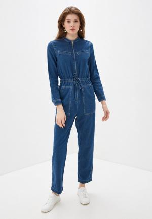 Комбинезон джинсовый Marks & Spencer. Цвет: синий
