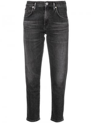 Укороченные джинсы Citizens Of Humanity. Цвет: черный