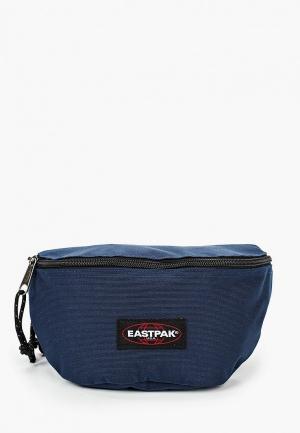 Сумка поясная Eastpak. Цвет: синий