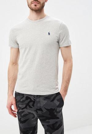 Футболка Polo Ralph Lauren. Цвет: серый