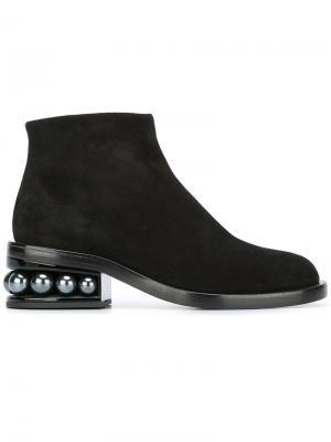 Ботинки по щиколотку Casati Nicholas Kirkwood. Цвет: чёрный