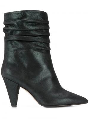 Ankle boots The Seller. Цвет: зеленый
