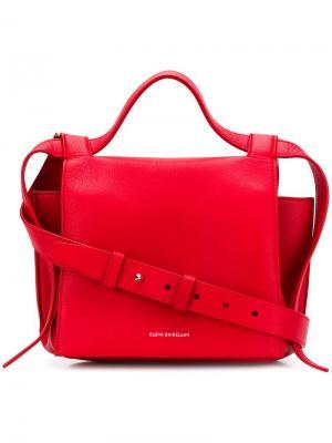 Angel satchel bag Elena Ghisellini. Цвет: красный
