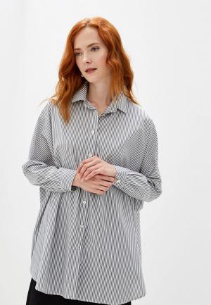 Блуза Massimiliano Bini. Цвет: серый