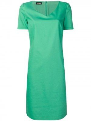 Повседневное платье Les Copains. Цвет: зеленый