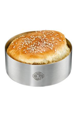 Формовочное кольцо для бургера GEFU. Цвет: металлический