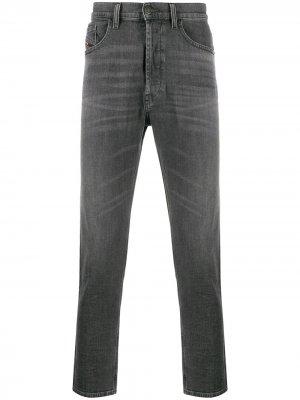 Зауженные джинсы D-Eetar 0095I Diesel. Цвет: серый