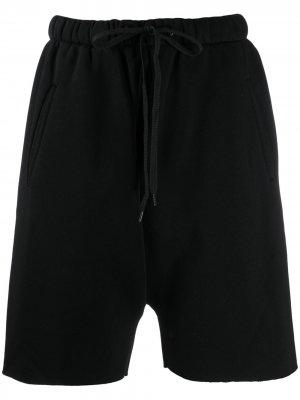 Спортивные шорты с заклепками на кармане DUOltd. Цвет: черный