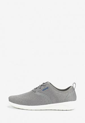 Кроссовки Crocs. Цвет: серый
