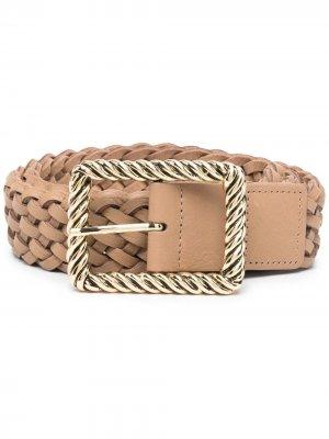 Плетеный ремень B-Low The Belt. Цвет: нейтральные цвета