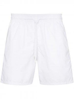 Плавки-шорты Moorea Vilebrequin. Цвет: белый