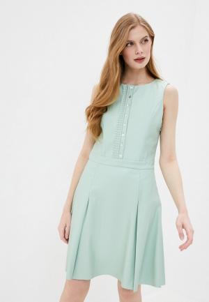 Платье Stefanel. Цвет: бирюзовый