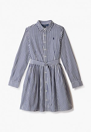 Платье Polo Ralph Lauren. Цвет: синий