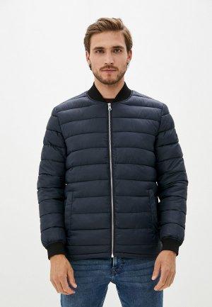 Куртка утепленная Matinique. Цвет: синий