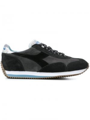 Colour block sneakers Diadora. Цвет: серый