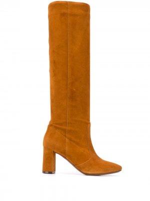 LAutre Chose сапоги на блочном каблуке L'Autre. Цвет: коричневый