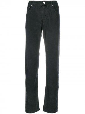 Прямые джинсы Jacob Cohen. Цвет: черный