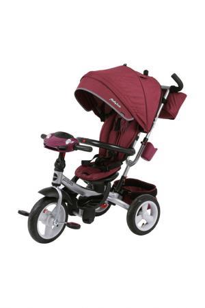 Велосипед 3-х колесный MOBY KIDS. Цвет: бордовый