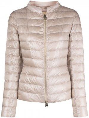 Стеганая куртка Herno. Цвет: розовый