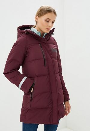 Куртка утепленная Helly Hansen. Цвет: фиолетовый