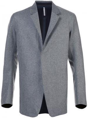 Классический пиджак Arc'teryx Veilance. Цвет: серый