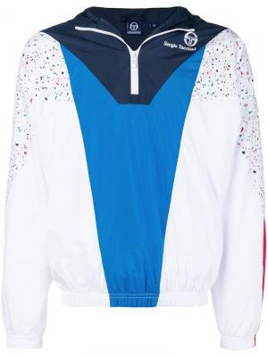 Hooded sports jacket Sergio Tacchini. Цвет: белый
