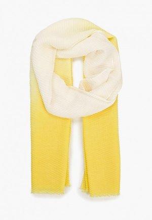 Палантин Sela. Цвет: желтый