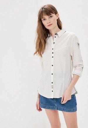 Рубашка Torstai. Цвет: бежевый