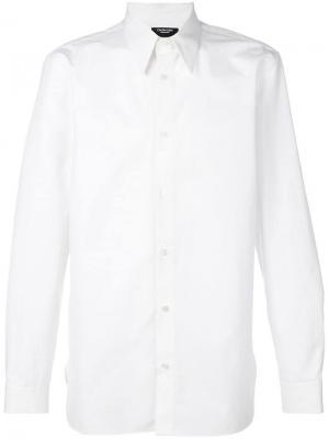 Рубашка с принтом Sandra Brant Calvin Klein 205W39nyc. Цвет: белый