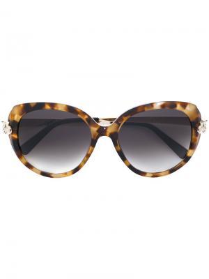 Солнцезащитные очки Panthère de Cartier. Цвет: разноцветный