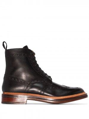 Ботинки Fred Grenson. Цвет: черный
