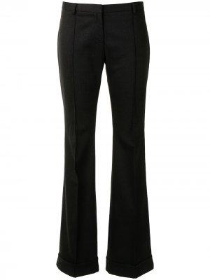 Расклешенные брюки строгого кроя Balenciaga Pre-Owned. Цвет: черный