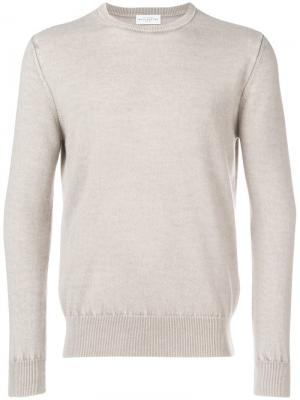 Тонкий вязаный свитер Ballantyne. Цвет: нейтральные цвета