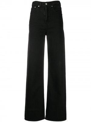 Levis широкие джинсы с завышенной талией Levi's. Цвет: черный
