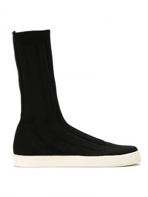 Knit sock sneakers Gloria Coelho. Цвет: черный
