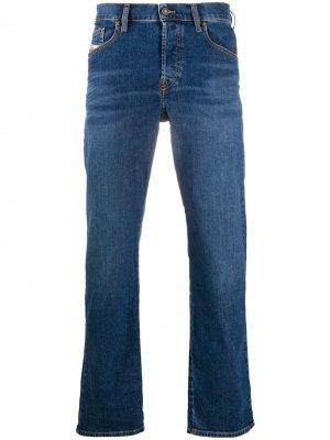 Прямые джинсы D-Mihtry Diesel. Цвет: синий