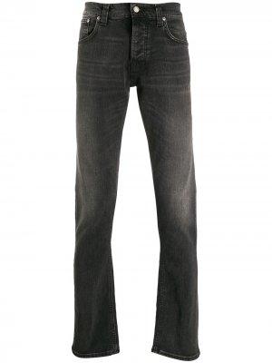 Джинсы прямого кроя Nudie Jeans. Цвет: черный