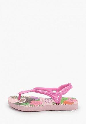 Сандалии Havaianas. Цвет: розовый