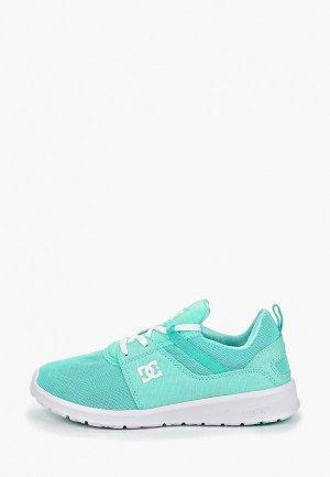 Кроссовки DC Shoes. Цвет: бирюзовый
