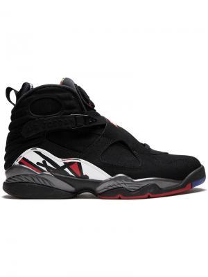 Кроссовки Air  8 Retro Jordan. Цвет: черный
